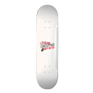 Merry Christmas and happy new year Skateboards