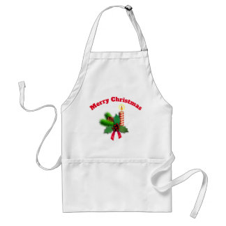 Merry Christmas And Happy New Year Standard Apron