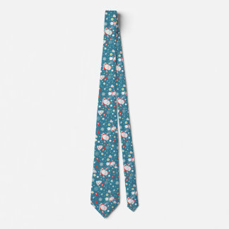 merry christmas and happy new year tie