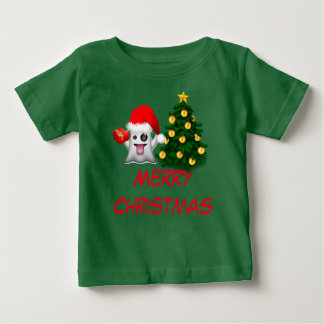 Merry Christmas and to happy New Year Baby T-Shirt