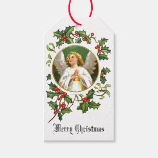 Merry Christmas Angel Gift Tags