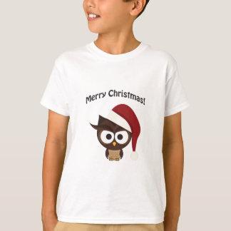 Merry Christmas Angry Owl T-Shirt