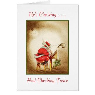 Merry Christmas Anyways Card