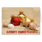 Merry Christmas At the Beach Card