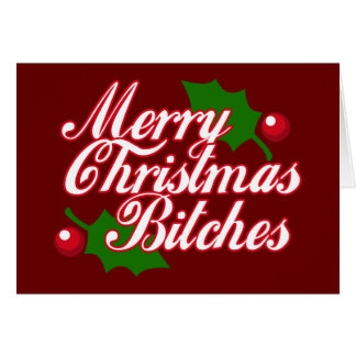 Merry Christmas B Greeting Card