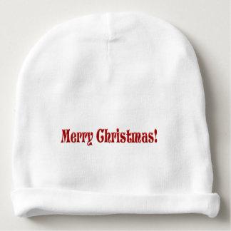 Merry Christmas Baby Beanie