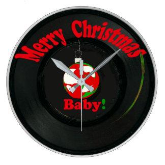 Merry Christmas Baby! Clock Record