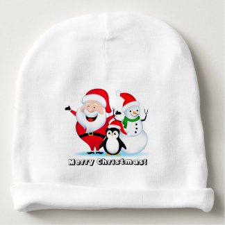 Merry Christmas Baby Cotton Beanie Baby Beanie