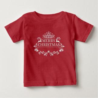 Merry Christmas Baby Fine Jersey T-Shirt