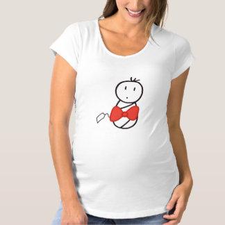 Merry Christmas Baby Maternity T-Shirt