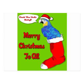Merry Christmas Baby Postcard