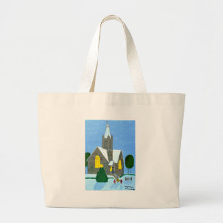 Merry Christmas Canvas Bags