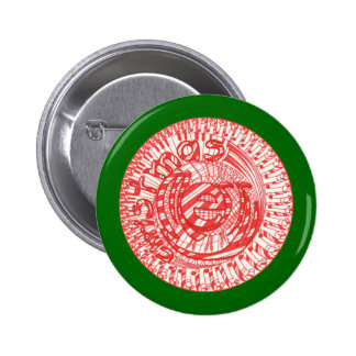 Merry Christmas ball candy canes buttons