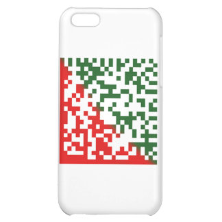 Merry Christmas Barcode iPhone 5C Cover