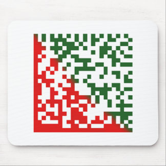 Merry Christmas Barcode Mouse Pad