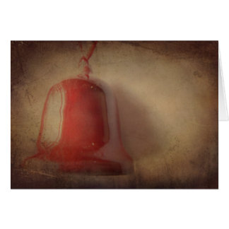 Merry Christmas Bell II Greeting Card