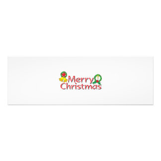 Merry Christmas Bell Lantern Wreath Candle Buttons Photographic Print