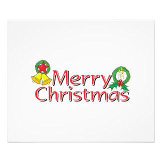 Merry Christmas Bell Lantern Wreath Candle Mistlet Photo