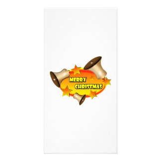 Merry Christmas Bells Picture Card