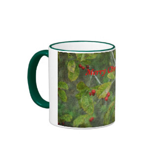 Merry Christmas Berry Mug