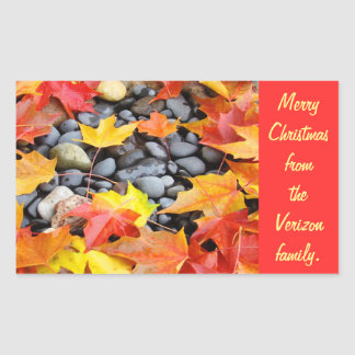 Merry Christmas Big Envelope Seals stickers Red