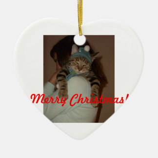 Merry Christmas-Boris Catenov Christmas Ornament