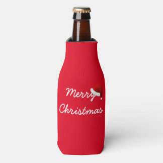 Merry Christmas Bottle Cooler