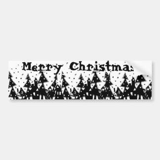 Merry Christmas! Bumper Sticker