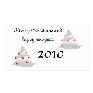 Merry Christmas Business Card Templates