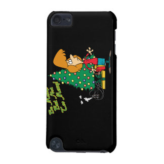 merry christmas but not too merry funny cartoon iPod touch (5th generation) covers