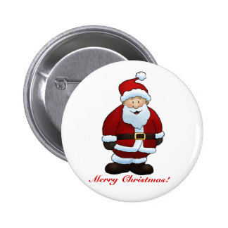 Merry Christmas! - Button 2 Inch Round Button