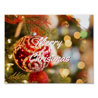 Merry Christmas by Storeman Poster