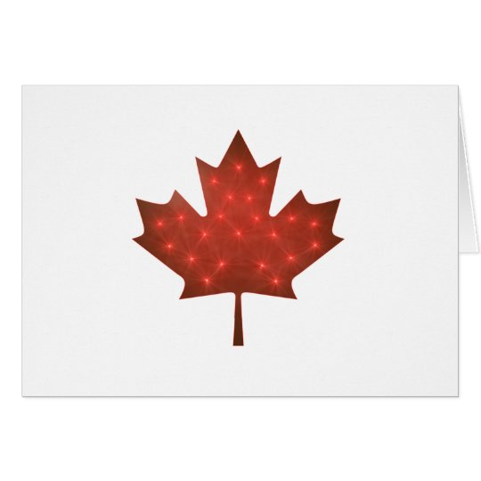 Merry Christmas, Canada Card