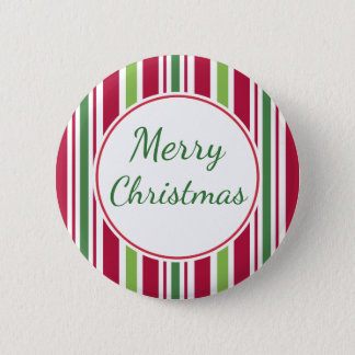 Merry Christmas Candy Party Button Pin Gift