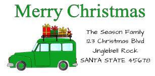christmas labels zazzle co uk