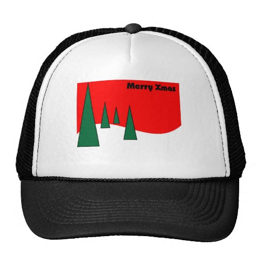 Merry  Christmas card for xmas greetings Hat