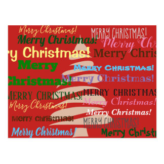 Merry Christmas Card! Postcard
