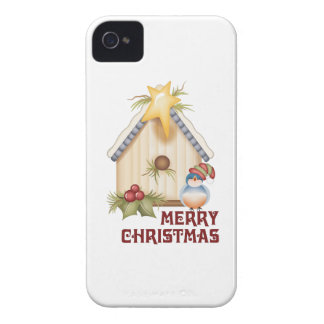 Merry Christmas iPhone 4 Case-Mate Case