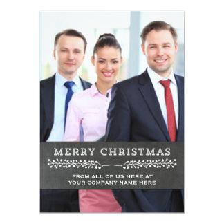 Merry Christmas Chalkboard Photo Cards Business 13 Cm X 18 Cm Invitation Card