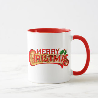 Merry Christmas Cheerful Gift Mug