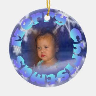 Merry Christmas Child Christmas Ornament