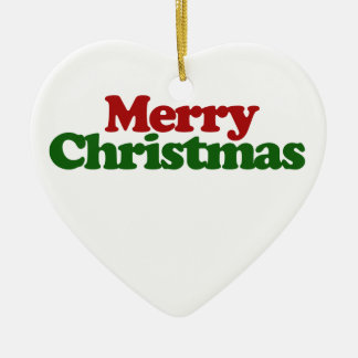 Merry Christmas Christmas Ornament