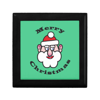 Merry Christmas, Christmas Santa Claus Gift Box