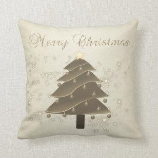 Merry Christmas,Christmas Tree,Sparkles Cushion