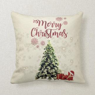 Merry Christmas,Christmas Trees ,Presents Cushion