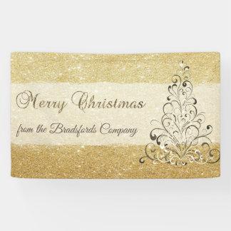 Merry Christmas ,ChristmasTree,Glittery,Company Banner