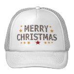Merry Christmas Chrome Cap