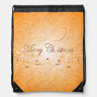 Merry Christmas Cinch Bags