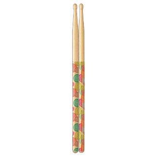 Merry Christmas Circle Pattern Drumsticks