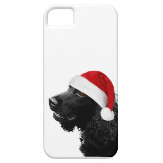 Merry Christmas Cocker iPhone 5 Covers